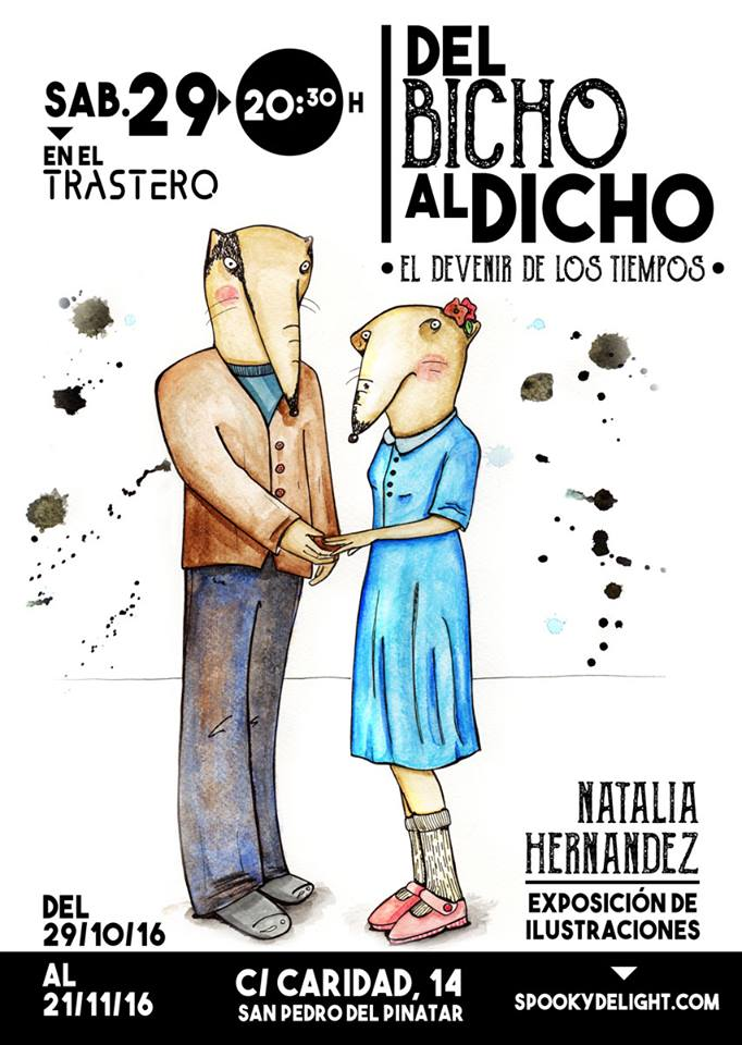 """Exposición """"Del Bicho al Dicho"""". Natalia Hernández"""